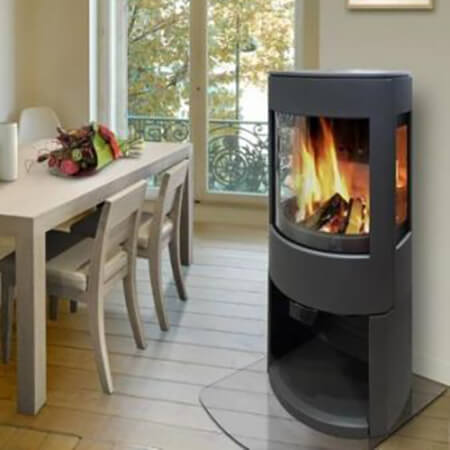 Dovre Astroline 4 wood box